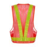 Maglia riflettente dell'alto di visibilità Workwear di sicurezza con nastro adesivo riflettente