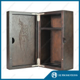 高品質のカシの張り合わせるウィスキーボックス(HJPWSB01)