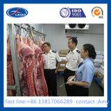 Quarto frio de processamento de carne