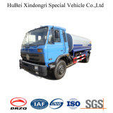 9ton 9cbm Dongfeng 유로 IV 정면 넘치는 물 물뿌리개 유조 트럭