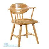 대중음식점 다방 (HW-838C)를 위한 새로운 단단한 나무로 되는 식사 의자