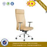 Cadeira traseira elevada do escritório dos pés da madeira contínua da cadeira do escritório do projeto (NS-931)