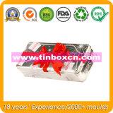 昇進のための長方形のクリスマスの錫、ギフトの錫ボックス、Xmasの錫