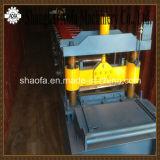 Roulis de feuille de toit de couture de position de découpage d'Atuo formant la machine