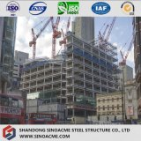 Vor ausgeführter Stahlrahmen für hohes Anstieg-Gebäude