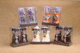 De Gevormde Kaars van de Decoratie van Halloween Schedel voor Verkoop