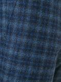 Zoll befestigte Checkmens-Form-Kleidungs-lange Hülsen-Klage