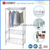 De Garderobe van de Slaapkamer van het Metaal van het Chroom DIY met Niet-geweven Dekking