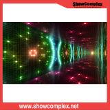 P6 effacent l'écran polychrome extérieur de location imperméable à l'eau de l'intense luminosité DEL