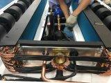 Forma do suporte da instalação do condicionamento de ar do barramento da cidade
