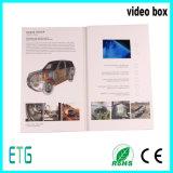 Livreto personalizado do vídeo do tamanho e da impressão