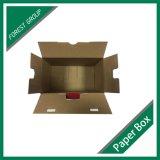 プラスチックハンドルが付いている工場価格のカスタム無光沢の印刷された包装ボックス