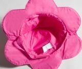 أطفال خاصّ بالأزهار 6 حافة دلو قبعة