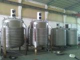 Réservoir de mélange revêtu 2t de bobine de Moitié-Pipe