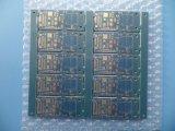 파란 가면 PCB를 가진 4layer 금 PCB 회로판