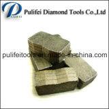 다이아몬드는 화강암 돌 절단기를 위해 톱날 공구 세그먼트를