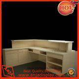 Bureau en bois de compteur de caissier pour le supermarché