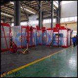 Double élévateur de chantier de construction de la cage Sc200/200 pour des matériaux
