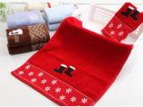 Полотенце конфеты подарка рождества высокого качества для детей (бархат и жаккард вырезывания)