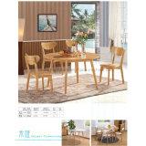 Популярная твердая древесина обедая стул для кафа трактира (HW-CH04C)