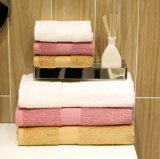 Hochwertige lange Heftklammer der Baumwolle16s nach Hause gefärbt/Hotel-Bad-Tücher