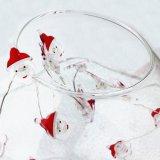 Батарея Fairy света шнура меди украшения рождества Santa Claus работала на праздники