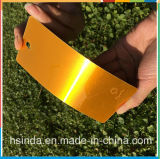 Enduit clair transparent orange personnalisé de poudre de sucrerie lustrée bon marché élevée d'usine