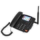 Teléfono de escritorio 2g teléfono inalámbrico SIM GSM Fwp G659 admite radio FM