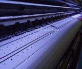 la impresora solvente 2880dpi máximo de Eco del formato amplio de los 3.2m se dobla con la pista de Epson