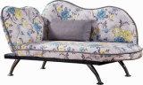 Koningin Fabric Chaise met Veranderlijke Armsteun