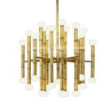 Kreative Bambusform-moderner rechteckiger Leuchter für verzieren Gaststätte-Wohnzimmer-Lampen