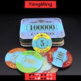 Die Acrylkristall-/Schürhaken-Chip-Krone, die Kasino-Chips bronziert, kann Zoll Ym-Cp004 sein