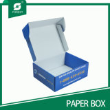 Carton bleu de courrier de papier de couleur pour l'expédition