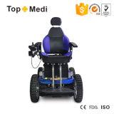 Кресло-коляска Topmedi складная лидирующая электрическая для инвалид