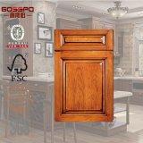 Portas de gabinete de madeira da cozinha do lustro europeu do estilo (GSP5-007)