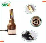 夜歩行者の金LEDのヘッドライトH4 H7 880 H1 H3 9005のヘッドライト