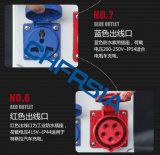 Cerco do soquete de potência da caixa de distribuição para o carro elétrico da bicicleta do motor