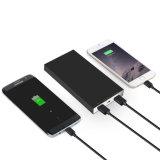 8800mAh portatifs conjuguent chargeur portatif de téléphone mobile de côté de pouvoir d'USB