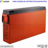 batteria terminale del gel di accesso anteriore di 12V 200ah per il comitato solare