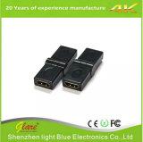 De gouden Adapter van de Omwenteling HDMI van de Stop