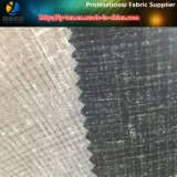T400 pongis, tela quemada 100%Polyester