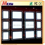Caja de luz LED magnética para Inmobiliaria ventana muestra