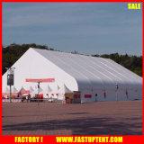 Tente intense 18m 36m de bâti incurvée par tente de sports en plein air de court de tennis