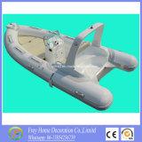 Summer Sport Ce 4.7m Barco de pesca branco de fibra de vidro com costela