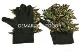 belaubte Jagd-Handschuhe der Tarnung-3D