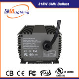 Chine Fabrication 315W Electronic Dimmable Ballast for Grow Light, Ce Certified, UL Listed, HPS et Mh Lamp Supported