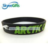 Wristband del silicone in bianco più poco costoso di vendita calda