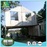 Hogares de la casa prefabricada del panel de pared de emparedado del cemento del material de construcción EPS