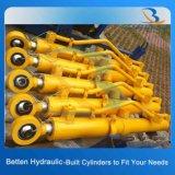 Cilindros hidráulicos soldados com uma capacidade de 20 toneladas