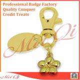 선전용 선물을%s 제 2 3D 로고 디자인의 주문 금속 열쇠 고리